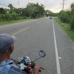 Travelling from Cabarete on moto-concho