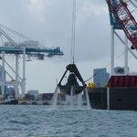 dredging Miami Harbor