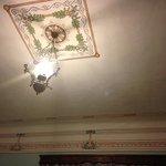 El detalle del techo