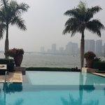 جانب من فندق سوفتيل الجزيرة بالقاهرة