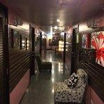 couloir des chambres (toujours aussi bien décoré et propre)