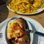 omelette/frites et lasagnes