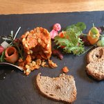 Mothers day starter - Carrot & Cashew pate