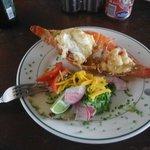 lobster at a local bar