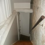 Entrada del apartamento  (subida al gallinero :-)