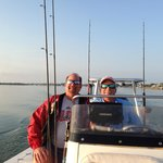 Heading out to Pine Island Sound to catch our bait
