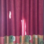curtain looks ok until you close them and realize how see through they are