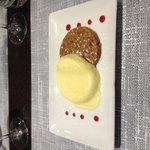 Crème vanille et son biscuit au spéculos