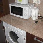 horno, lavadora y demas utencilios