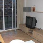 television balcon