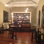 The bar area at Union Bank