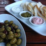 Meze'  - the Taramasalata was the best I have ever had