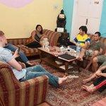 Common Room at International Travellers' Hostel, Varanasi
