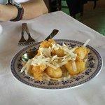Pere fritte col pecorino