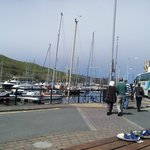 Peel Marina from quayside