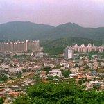 La vue sur Suwon