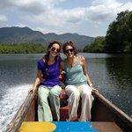 En el rio, tour de canoa en los manglares, Churute, Monoloco