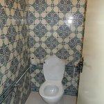 toaleta oddzielona od łazienki