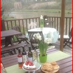 Spring is in the air and the wine is flowing at Folly Lake cafe