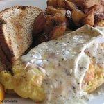 Lobster & Brie Omelette