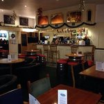 Newly refurbished bar