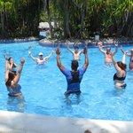 Aerobics in water