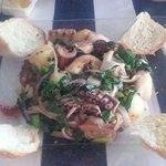 Sauteed octopus