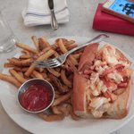 lobster roll hot with butter