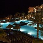Around the hotel Ziva at night