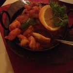 Curry with King Prawns