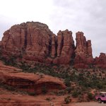 View of Red Rocks from Broken Arrow jeep tour
