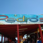 Front of Pedro's