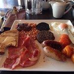full Scottish breakfast at The Waterfront - stunning!
