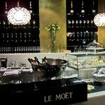 CHampagne & Chocolate Bar, Le Meridien, Vienna  Austria