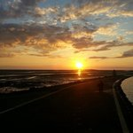Sunset at West kirby Often take my team of spaniels here for a run on the beach and a swim Gre
