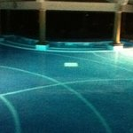 adult pool at night