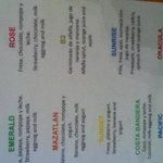 breakfast smoothie menu