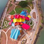 BioMuseo Panama from the air