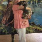 Awwww Cuddling a Koala