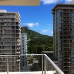 View from the 11th floor looking towards diamond head