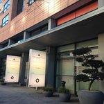 Main Entrance The Mandala Hotel, Berlin