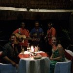 Private dining on the Pier - with a serenade :)