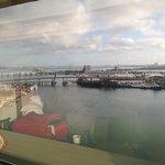 Porto de Miami - vista do nosso apto