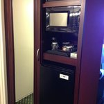 Microwave, fridge, coffee - in room