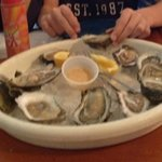 Raw Oysters. $6.50 per dozen during Happy Hours