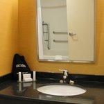 Banheiro adaptado para cadeirantes