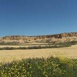Formaciones caracterizadas por su gran erosión.