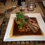 Roast Duck with Cranberry Sauce