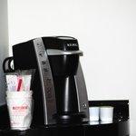 Coffee maker.
