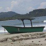 Beach - kayaked to island